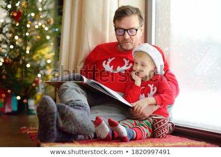 zaman · okumak · kadın · okuma · kitap · yüz - stok fotoğraf © iko