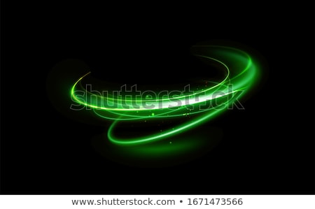 Abstract green glowing background Stock photo © orson