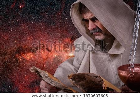 Libra on a manuscript  Stock photo © cidepix