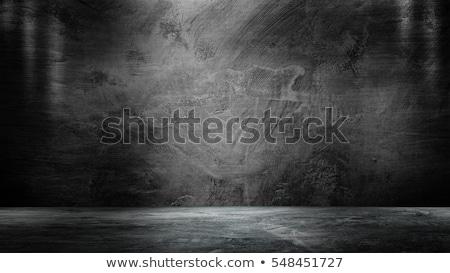 Hámozott beton fal festék rozsdás szín Stock fotó © schizophrenia