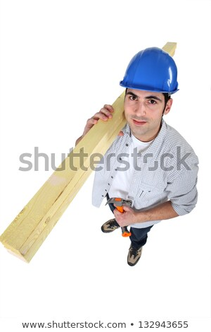 High-angle shot of a carpenter Stock photo © photography33