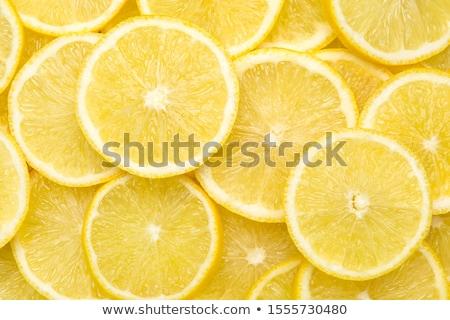abstrato · limão · fatias · estúdio · fotografia - foto stock © oly5