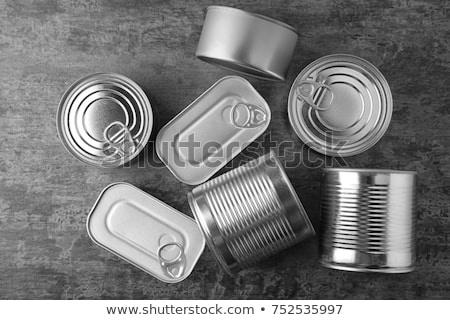 Assortment of food tin can Stock photo © broker