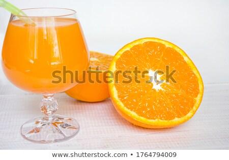 Orange - much copyspace Stock photo © Dphiman