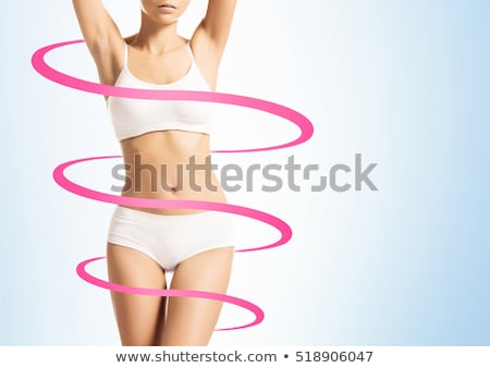 Stok fotoğraf: Perfect Slim Woman Hip Young Beautiful Female Body