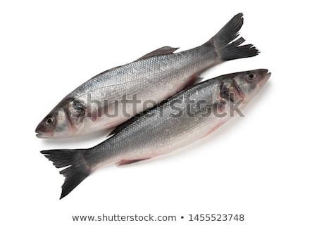 Iki deniz bas taze gıda göz Stok fotoğraf © toaster