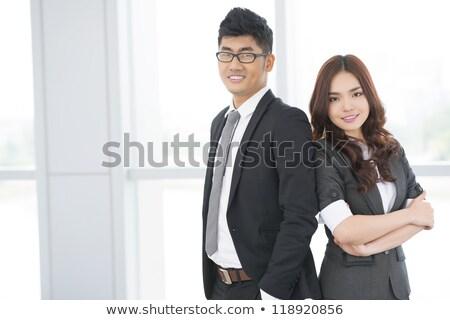 oficina · jerarquía · sillas · jefe · silla · cuero - foto stock © photography33