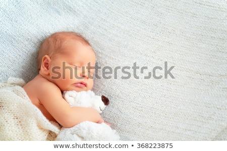 Aanbiddelijk weinig jongen teddybeer Stockfoto © wavebreak_media