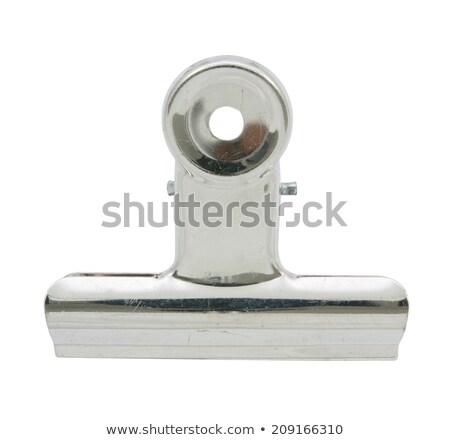 Bull Clip & Paper (with clipping path) Stock photo © danny_smythe