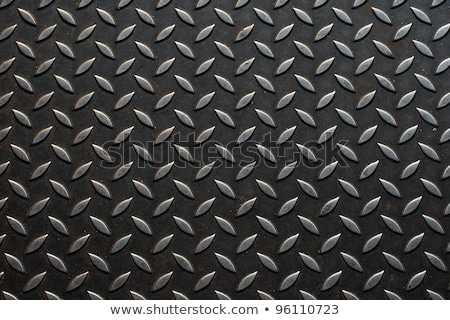 Diamondplate-Metal-Sheet Stock photo © Lightsource