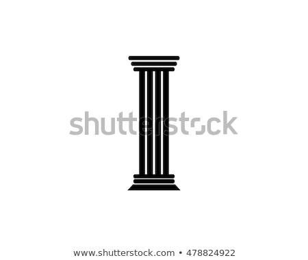 Symbol Säule Stock foto © zzve