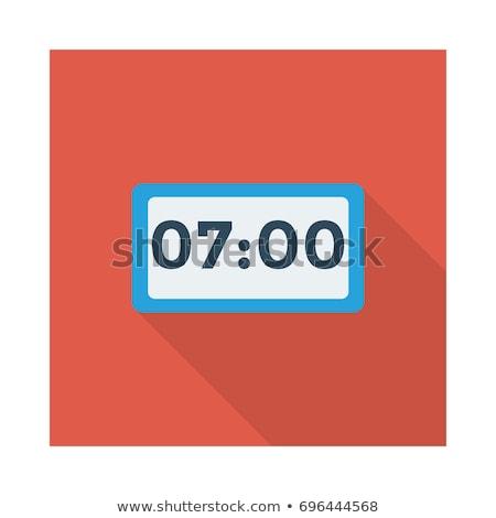 Icon_clock stock photo © zzve