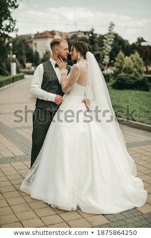 sposa · lo · sposo · insieme · abbraccio - foto d'archivio © luckyraccoon