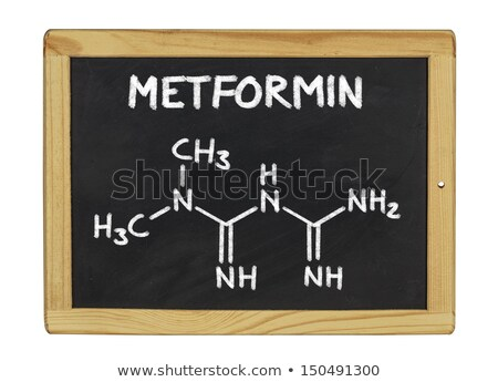 chemical formula of cholesterol on a blackboard Stock photo © Zerbor