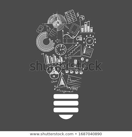 Criador inovação texto 3D negócio Foto stock © marinini