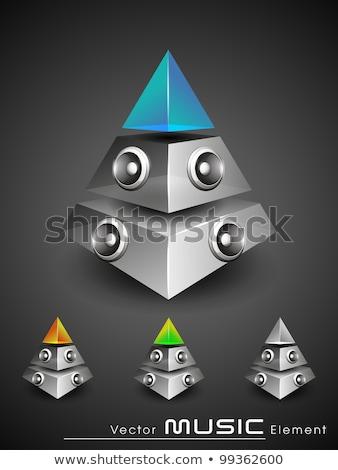 niebieski · strony · disco · ball · świetle · projektu · sztuki - zdjęcia stock © beholdereye