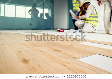 Expert in laminate flooring Stock photo © photography33