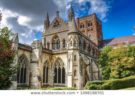 Kathedraal abdij kerk stad Stockfoto © jayfish