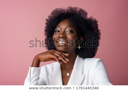 Portrait of  woman in white suit Stock photo © vetdoctor