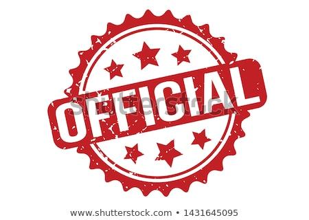Officieel Rood witte business documenten Stockfoto © chrisdorney