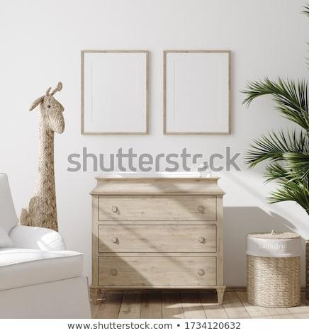 rectangle · cadre · blanche · papier · art · peinture - photo stock © sonia_ai