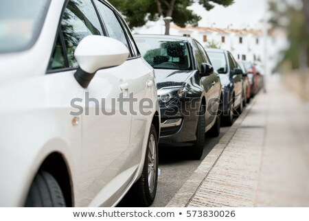 parked cars stock photo © c-foto