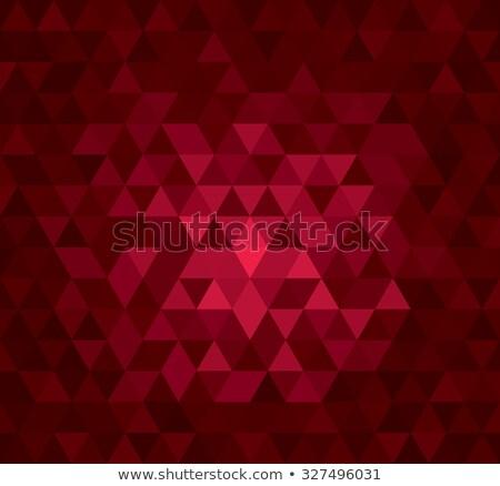 Digital triangle pixel mosaic Stock photo © sidmay