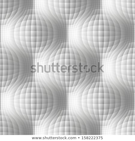 Vector seamless pattern - volume geometric texture with spheres Stock photo © pzaxe