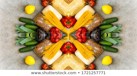 Top Rood paprika geïsoleerd witte Stockfoto © dla4
