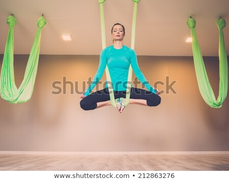 personnes · sport · gymnase · suspension · entraîneur · groupe · de · gens - photo stock © nejron