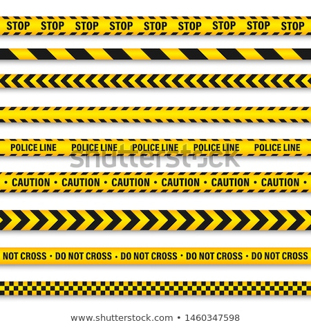 Crime scene danger tapes  illustration Stock photo © kiddaikiddee