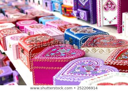 Gift boxes Croatian souvenir Stock photo © smuki