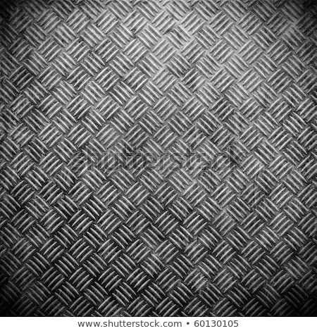 Dirty industrial grip floor texture pattern Stock photo © Juhku