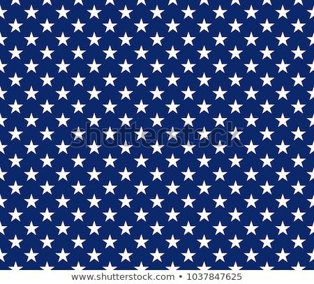 white stars in blue Stock photo © marinini