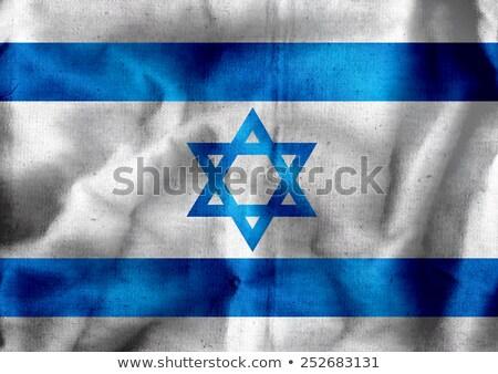 Israel Flagge Themen Idee Design Stock foto © kiddaikiddee