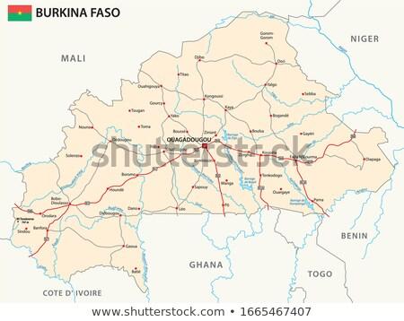 トーゴ · 共和国 · アフリカ · マップ · プラス · 余分な - ストックフォト © mayboro