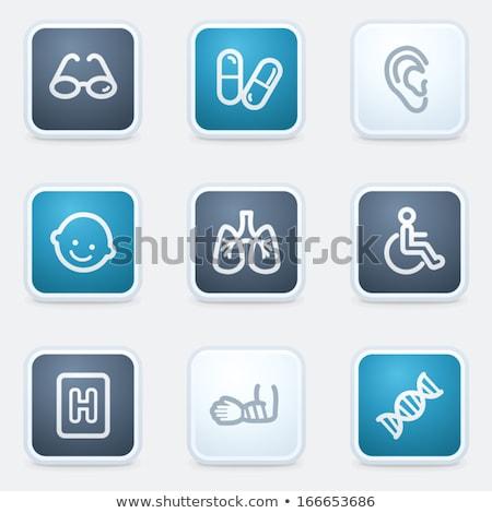 tıbbi · uygulaması · dizayn · çevrimiçi · doktor - stok fotoğraf © rizwanali3d