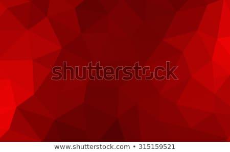 暗い タンジェリン 抽象的な 低い ポリゴン スタイル ストックフォト © patrimonio