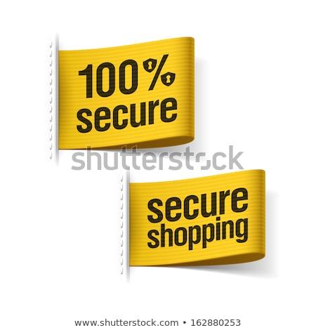 100 безопасного сообщение бизнеса компьютер служба Сток-фото © fuzzbones0