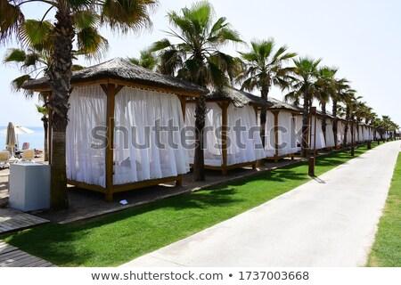 Calm pavilion near sea Stock photo © Paha_L