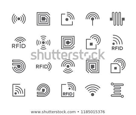 felirat · rádió · levél · lámpa · forgalom · elektromosság - stock fotó © huseyinbas