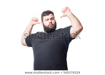 fat man gesture stock photo © paha_l