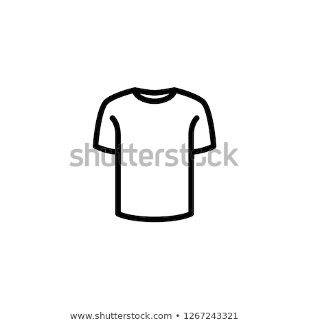 Camiseta icono negocios Internet cuerpo diseno Foto stock © kiddaikiddee