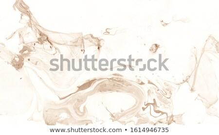 Dark brown corporate material wavy background Stock photo © saicle