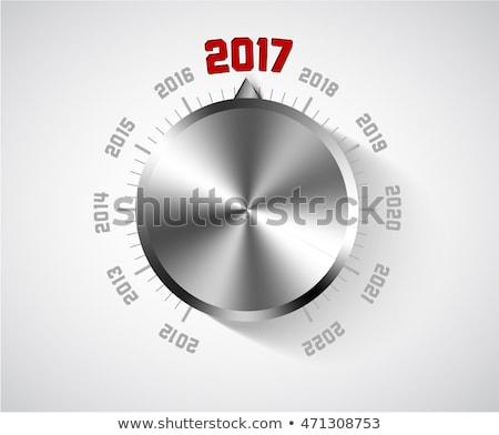 Vector nieuwjaar kaart muziek groot Stockfoto © orson