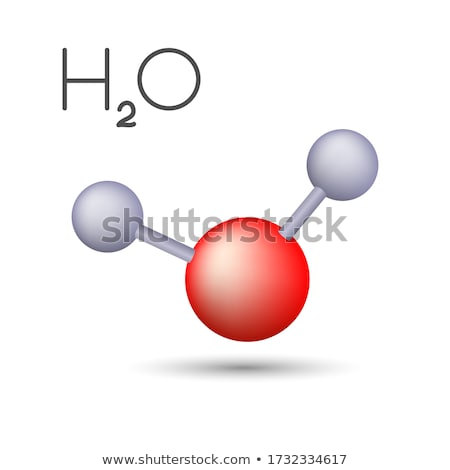 Hydrogen oxide formula Stock photo © bluering