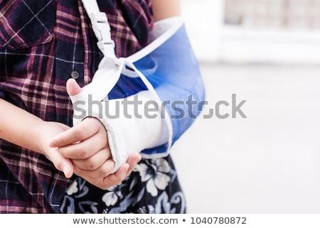 isolato · ossa · colonna · vertebrale · bianco · medici · anatomia - foto d'archivio © bluering
