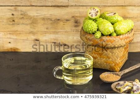 gyümölcs · dzsúz · por · fekete · egészség · gyógynövény - stock fotó © Bigbubblebee99