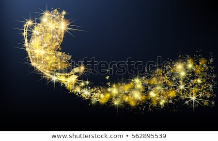 gold butterfly with gems stock photo © blackmoon979