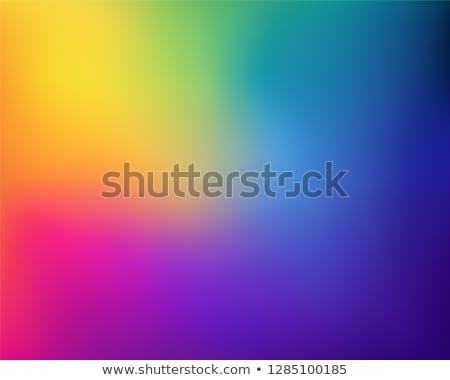 lumineuses · Rainbow · vecteur · eps · 10 - photo stock © aliaksandra